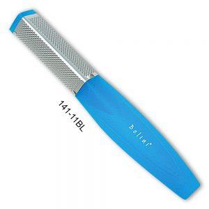 Belini Blue Foot Rasp 3 Sided File Plastic Handle