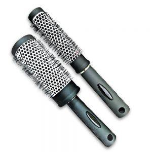 Round Thermal Hair Brush Set of Two