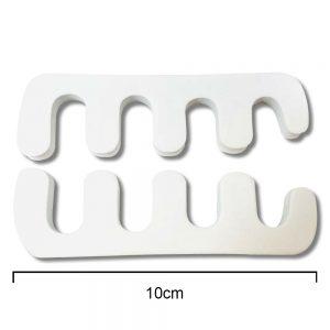 Plastic Toe Separators Pedicure Tools 2 pcs 10cm